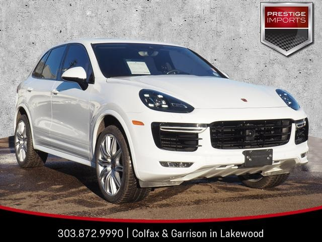 Certified Pre-Owned 2017 Porsche Cayenne Turbo S